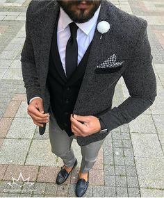 "3,053 Likes, 17 Comments - Class Men Style Fashion (@inspirations_style) on Instagram: ""Amazing style inspiration by our friend @tufanir love details …"""