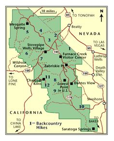 Death valley national park map Yahoo Search Results TRAVEL
