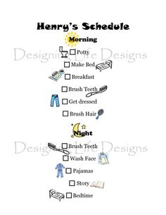 Weekly Kids Activity Planner..blank one included to make