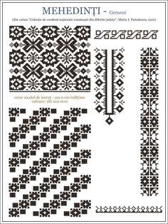 Romanian motifs - Mehedinti 1910