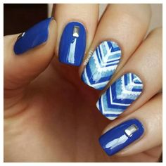 Lovely blue pattern