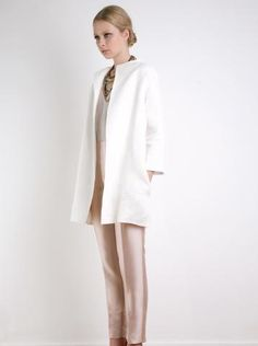 Linen Trench - The 2nd Skin Co. SS12 New Collection #Fashion #Trench