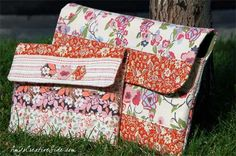 Free Bag Pattern and Tutorial - Ipad/Laptop Bag