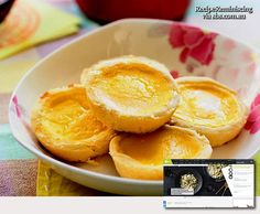 Chinese Egg Tarts / Kinesiske Eggeterter
