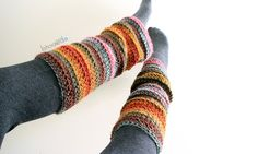 Beginner Crochet Leg Warmers