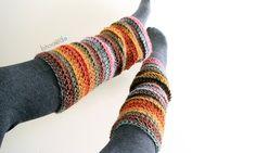 Beginner Crochet Leg Warmers