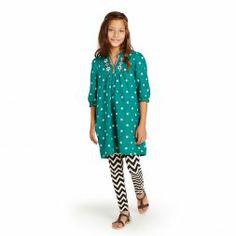 Little Girls Legging & Chevron Legging | Tea Collection