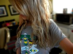 Shirt + Cute Hairstyle
