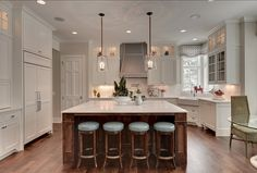 Beautiful Wonderful Open Kitchen Area Love The Wide