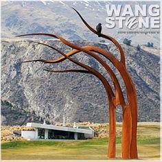 Image result for tree sculpture metal