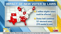 CNN: Voter ID laws could delay election results
