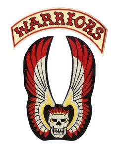 The Warriors vest logo!