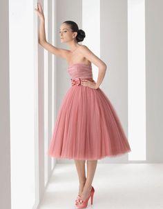 Love this mauve color dress. via gabytaangeles