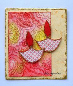 Neon Diary Handmade Diwali Greeting Cards, Diwali Cards, Diwali Greetings, Handmade Cards, Handmade Gifts, Rakhi Cards, Card Making Tips, Small Stuff, Art N Craft