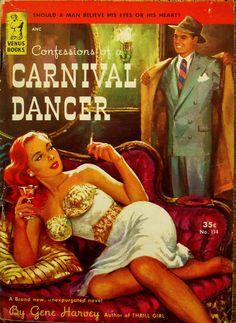 Venus Books # 114 - Carnival Dancer - Gene Harvey - 1951