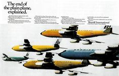 It was the end of the plain plane when Alexander Girard and Emilio Pucci joined forces in 1965 to create a new identity for Braniff International Airways.  The most beautiful brand identity design work ever today on ---> http://interiorator.com/braniff-end-plain-plane/