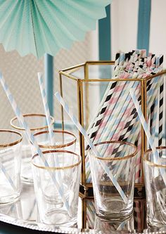 Paper straws from Miss Étoile