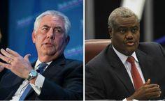 Coopération : l'Administration TRUMP Humilie le président de la Commission de l'UA: Invité à Washington par le secrétaire d'État,… #Team237