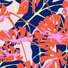 #Tropical ambiance by @guavaprintstudio soon at #premierevisionnewyork booth I9 in January 19-20 at #pier94 #nyc #⃣ #wearepremierevision #designs #prints #illustration #patterns #ss17 #fashion #Textile
