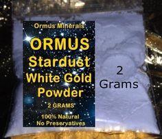 MONATOMIC GOLD *ORMUS* *ORME* WHITE POWDER GOLD Trial Size Sale!! $7.50
