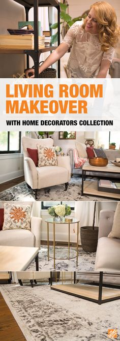 Superior Check Out Blogger Lesley Grahamu0027s Amazing Living Room Transformation. With  Just A Few Pieces Of