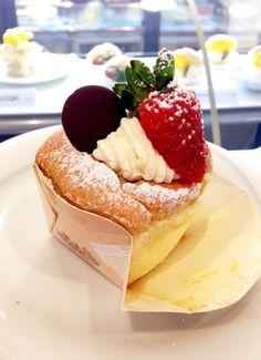 Moti Moti Cake Shop - doceria oriental que fica na Vila Mariana e tem bolos super leves como o Hokkaido Chiffon.