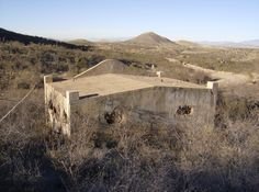 The old jail in Courtland, Arizona.