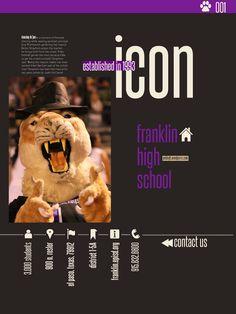 Franklin High School in El Paso-Title page