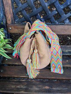 Wayuu Bags. 2014 Hot Trend in Europe and Brazil. door loveandlucky