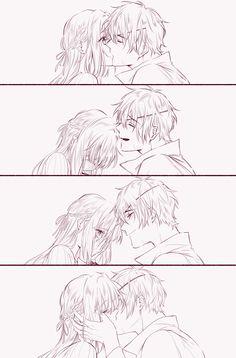 Anime Girl Cute, Cute Anime Couples, Kawaii Anime Girl, Violet Evergarden Wallpaper, Couple Poses Reference, Violet Evergreen, Violet Evergarden Anime, Anime Cupples, Beautiful Dark Art