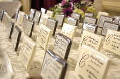 Edible Favors | ... edible wedding favors are available in milk, dark or white chocolate