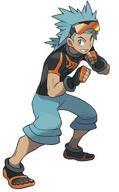 Brawly - Characters & Art - Pokémon Omega Ruby and Alpha Sapphire