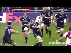 Brian O'Driscoll scores try off a fantastic pass from Johnny Sexton vs Cardiff Blues. Rugby Videos, Cardiff, Ronaldo, Scores, Blues, Baseball Cards, Game, Youtube, Heineken