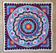 Die 352 Besten Bilder Von Mandala Decken Und Mehr Crochet Mandala