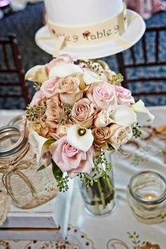 Blush Pinks and ivory bouquet