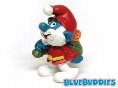 Value figurines vintage smurf