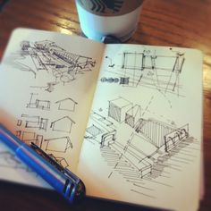 #coffeesketch | residential architecture musing 08.31.12