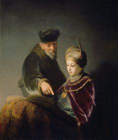 Rembrandt Harmensz. van Rijn - A Young Scholar and his Tutor