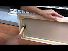 How to attach Canvas Wedges - YouTube