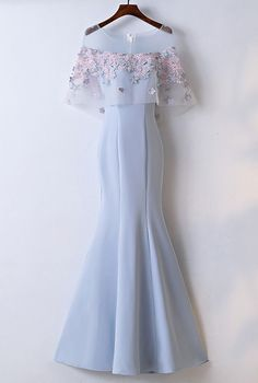 Long Prom Dresses, Pretty Prom Dresses, Blue Prom Dresses, Prom Dresses For Cheap, Mermaid Prom Dresses Prom Dresses 2019 Blue Mermaid Prom Dress, Blue Party Dress, Tulle Prom Dress, Mermaid Dresses, Lace Dress, Lace Mermaid, Dress Shoes, Pretty Prom Dresses, Prom Dresses Blue