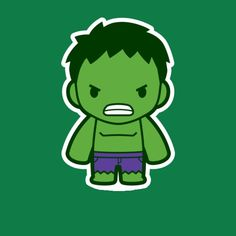 Mini Hulk Hulk Marvel, Chibi Marvel, Marvel Comics, Hulk Avengers, Marvel Art, Hulk Hulk, Red Hulk, Ms Marvel, Captain Marvel