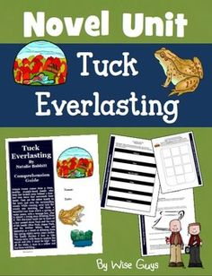 Tuck Everlasting Novel Study Unit. This is a reading comprehension activity guide and answer key for Tuck Everlasting by Natalie Babbit.  It contains 14 pages of activities (31 total pages including the answer key, assessments, and scoring rubrics). This is one of the most comprehensive reading packets you will find directly related to this book.