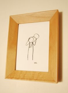 Daddy and Me. $35.00, via Etsy.