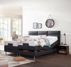 die besten 25 boxspringbett mit motor ideen auf pinterest. Black Bedroom Furniture Sets. Home Design Ideas