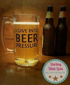 Beer Mug | Custom | Personalized | Barware | Glassware | Funny Mug | Husband Gift | Gift for him | Groomsman Gift by DarlingDixieGals on Etsy