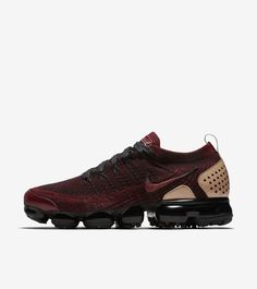 Explore and buy the Nike Air Vapormax Flyknit 2 NRG 'Team Red & Black & Vachetta Tan'. Stay a step ahead of the latest sneaker launches and drops. Latest Sneakers, Red Sneakers, Sneakers Fashion, Sneakers Nike, Nike Basketball, Nike Sportswear, Nike Fashion, Mens Fashion, Running Nike