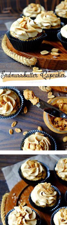 Erdnussbutter Cupcakes | waseigenes.com