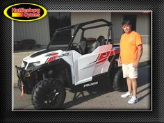 Thank you Eric Hopkins from Saucier MS for getting a 2017 Polaris General 1000 #polaris