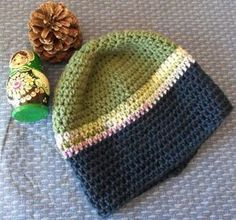 Bev's Basic Crocheted Hat - good basic pattern for men/boy hat