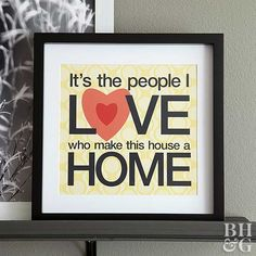 Download and display this print to declare your love for your home and the people you share it with. Have it matted in a frame for added style. Hang the piece alongside family photos or other sentimental works for a chic gallery wall.